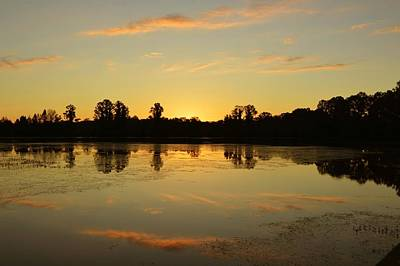Photograph - Tuesday Sunrise - Alligator Lake by rd Erickson