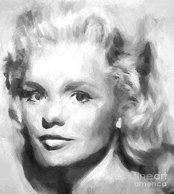 Digital Art - Tuesday Weld by Steven Parker