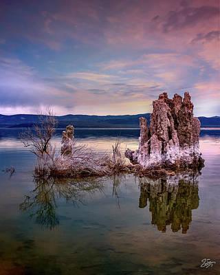 Photograph - Tufa 5 by Endre Balogh
