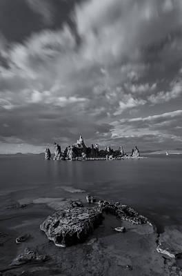 Photograph - Tufa Castles Bw by Jonathan Nguyen