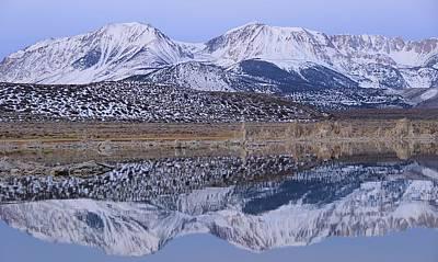 Photograph - Tufa Dawn Winter Dreamscape by Sean Sarsfield