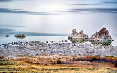 Photograph - Tufa Formations At Mono Lake by AJ Schibig