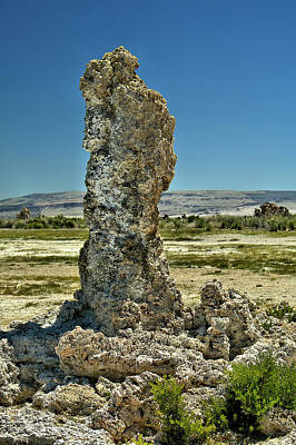 Photograph - Tufa by Michael Gordon