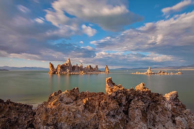 Photograph - Tufa Overlook by Jonathan Nguyen