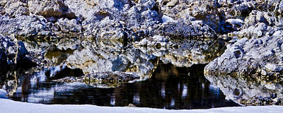 Photograph - Tufa Reflections by Albert Seger