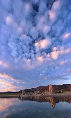 Photograph - Tufa Sunrise by Sean Sarsfield