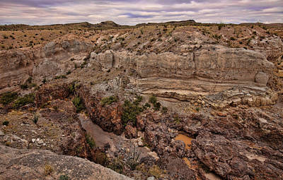 Photograph - Tuff Canyon 2 by Judy Vincent