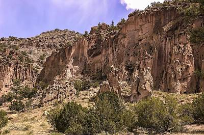 Photograph - Tuff Cliffs by NaturesPix