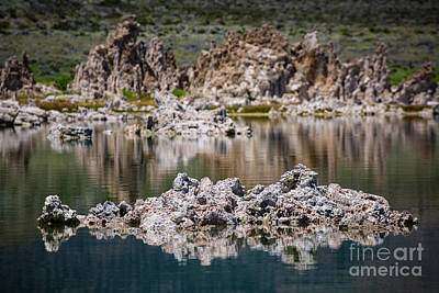 Photograph - Tuffa Reflection 2 by Anthony Bonafede