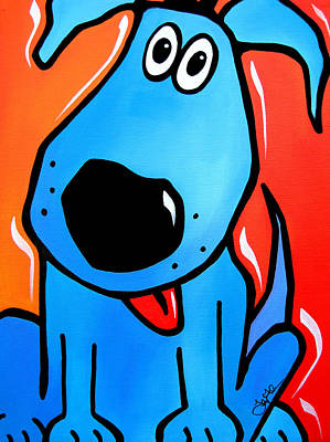 Tuffy Art Print by Tom Fedro - Fidostudio