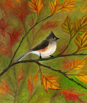 Painting - Tufted Titmouse by FT McKinstry