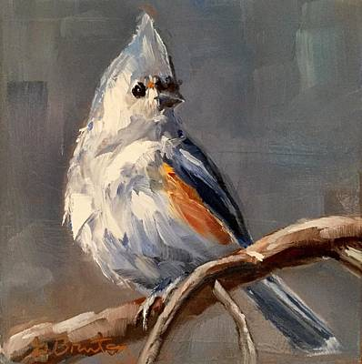 Tufted Titmouse Original by Gary Bruton