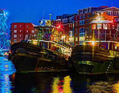 Tug Boat Alley 026 Art Print