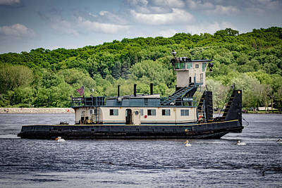 Photograph - Tug Boat Katie Ann by Ray Congrove