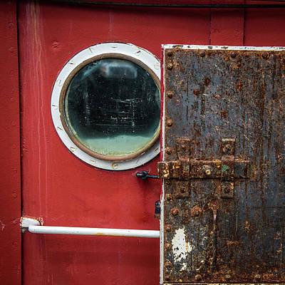 Tug Boat Porthole Art Print