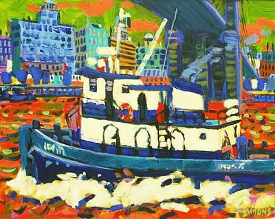 TUG Art Print by Brian Simons
