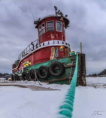 Wall Art - Photograph - Tugboat by J Thomas