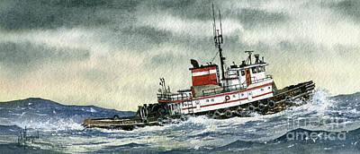 Tugboat Lynne Art Print
