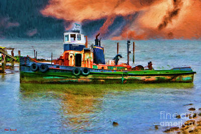 Photograph - Tugboat Polaris Rodeo Ca by Blake Richards