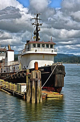 Photograph - Tugboat Titan  by Thom Zehrfeld