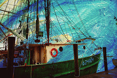 Blend Photograph - Tugboat Blues by Toni Hopper