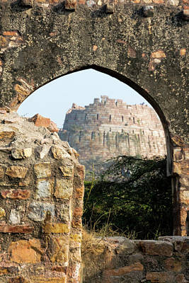 Photograph - Tughlaqabad Fort by Steven Richman