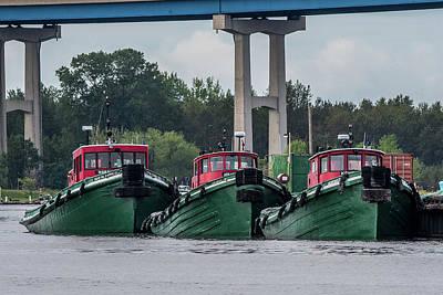 Duluth Photograph - Tugs by Paul Freidlund