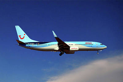 Airliners Photograph - Tui Fly Boeing 737-8k5 by Nichola Denny