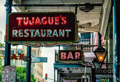 Photograph - Tujagues - French Quarter Nola by Kathleen K Parker