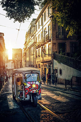 Photograph - Tuk-tuk In Lisbon by Carlos Caetano