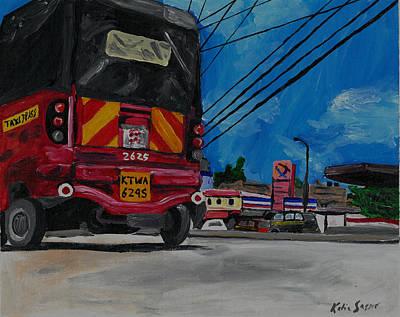 Painting - Tuk Tuk by Katie Sasser