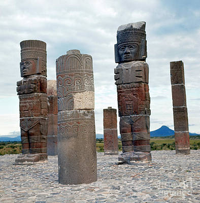 Photograph - Tula: Toltec Monuments by Granger