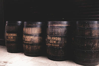 Photograph - Tulamore Dew Barrels by Georgia Fowler