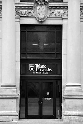 Photograph - Tulane University by Andrew Dinh