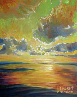 Tule Filtered Sky Original by Vanessa Hadady BFA MA