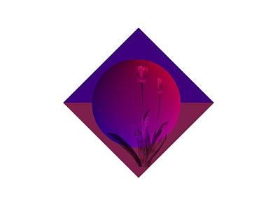 Digital Art - Tulip Abstract by Nancy Pauling