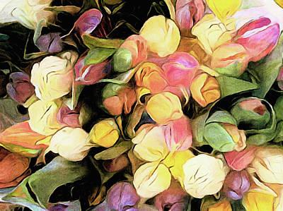 Photograph - Tulip Bouquet by Susan Maxwell Schmidt