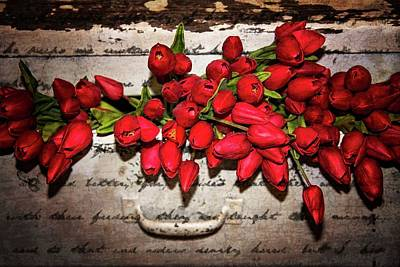 Photograph - Tulip Dresser At Magnolia Market by Lynn Bauer