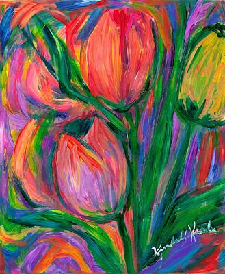 Photograph - Tulip Edge by Kendall Kessler
