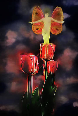 Photograph - Tulip Fairy by John Haldane