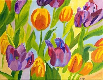 Tulip Fest Art Print