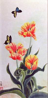 Tulip I Art Print by Ying Wong
