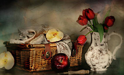 Ply Photograph - Basket And All by Diana Angstadt