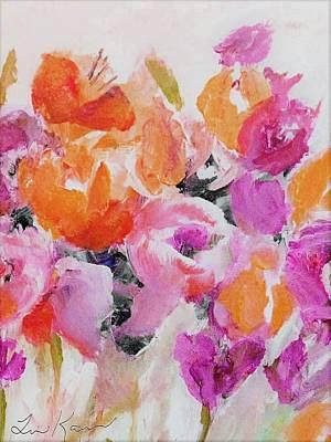 Digital Art - Tulip Power Painting by Lisa Kaiser