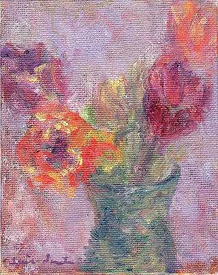 Painting - Tulip Soiree by Quin Sweetman