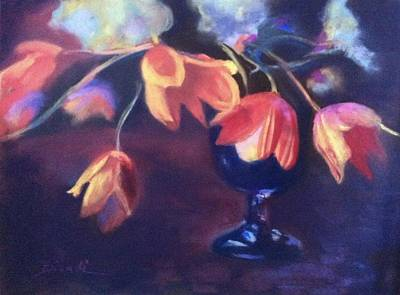 Painting - Tulip Still Life by Janet Biondi