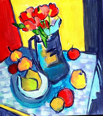 Painting - Tulip Still Life by Nikki Dalton