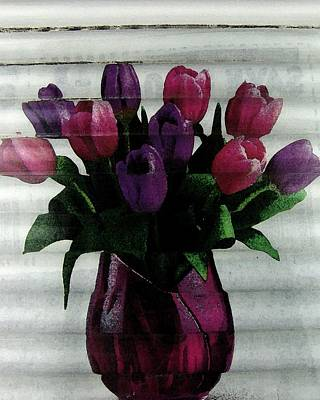 Digital Art - Tulip Time by Florene Welebny