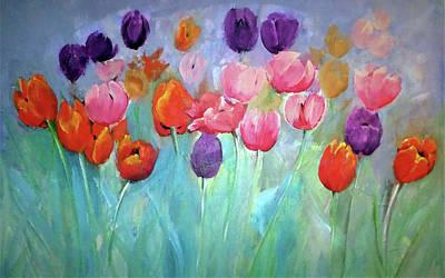 Digital Art - Tulip Timeless By Lisa Kaiser by Lisa Kaiser