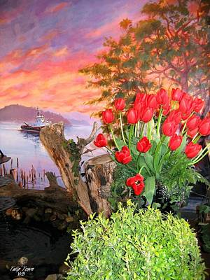 Photograph - Tulip Town 19 by Will Borden